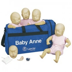 MANIQUI PARA RCP BABY ANNE C/4 LAERDAL