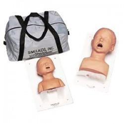 SIMULADOR DE INTUBACION INFANTIL (03 ANOS) SIMULAIDS