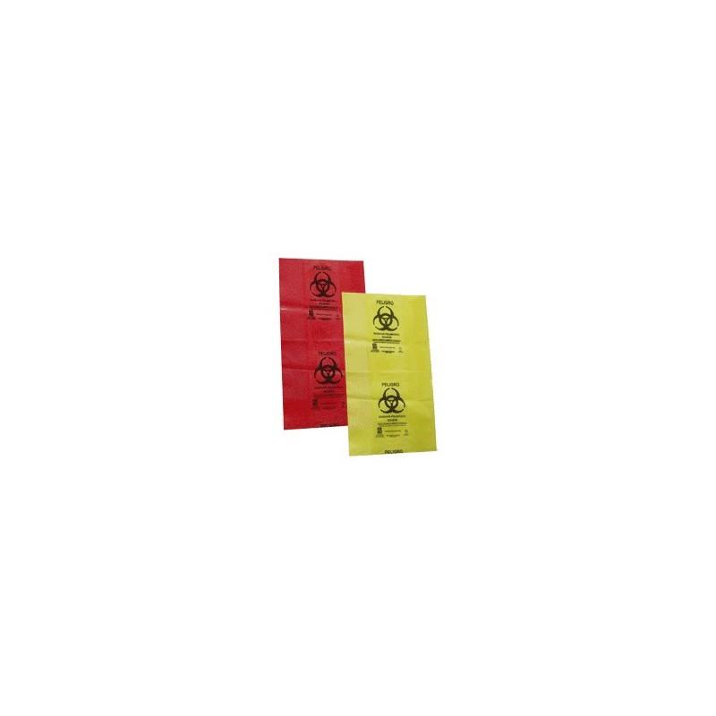bolsa roja o amarilla residuos biologicos infecciosos