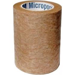 CINTA MICROPOROSA (MICROPORO) 7.50 CM CAJA C/COLOR PIEL