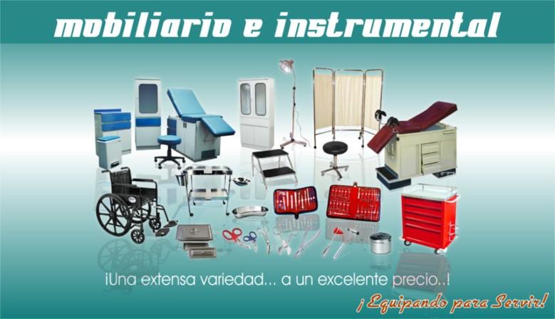 Mobiliario e Instrumental
